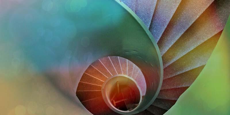 Qual a diferença a entre o círculo e a espiral? Como você está em sua vida?